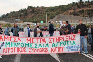 Αγροτικός Σύλλογος Αιγίου : Κάλεσμα στο αυριανό συλλαλητήριο στην γέφυρα Μεγανίτη - Μαζί και ο Σύλλογος Αλυκής