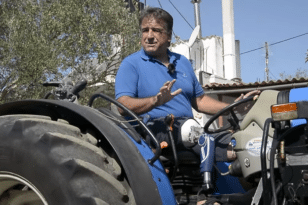 H συγκλονιστική ιστορία του ήρωα-αγρότη - Οδήγησε σχεδόν 1,5 χιλιόμετρο με κομμένο πόδι - ΒΙΝΤΕΟ