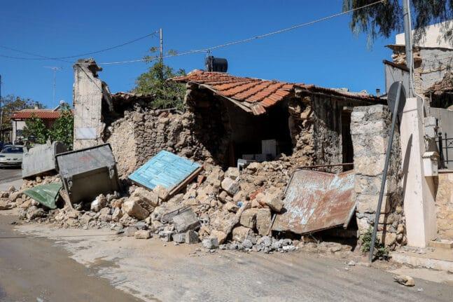 Νέος σεισμός 3,5 Ρίχτερ στο Αρκαλοχώρι