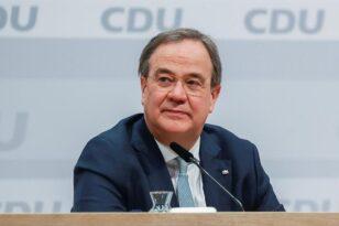 Γερμανία: Υπέβαλε παραίτηση από την ηγεσία του CDU ο Άρμιν Λάσετ