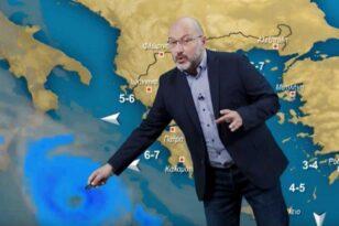 Καιρός – Σάκης Αρναούτογλου: Και επίσημα μεσογειακός κυκλώνας – Ποιες περιοχές θα χτυπήσει