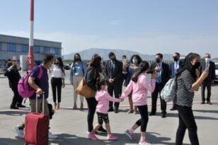 43 πρόσφυγες και αιτούντες άσυλο αναχώρησαν για την Πορτογαλία