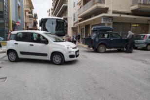 Κυκλοφοριακό κομφούζιο λόγω τροχαίου στη Μαιζώνος - Ευτυχώς δεν υπήρξαν τραυματίες - ΦΩΤΟ