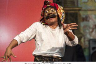 Ο δάσκαλος του Μπαλινέζικου Χορο-δράματος με Μάσκα, I Wayan Bawa στην Πάτρα