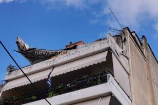 Εικόνες από το μπαλκόνι που κατέρρευσε! Δείτε ΦΩΤΟ