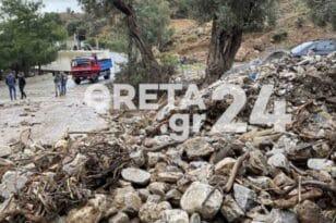Καταστροφές από τον «Μπάλλο», πάνω από 500 αμνοερίφια παρασύρθηκαν από το νερό και εντοπίζονται πνιγμένα διάσπαρτα!ΦΩΤΟ
