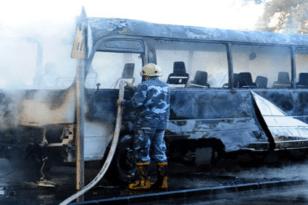 Συρία: Νεκροί και τραυματίες από έκρηξη σε λεωφορείο στη Δαμασκό