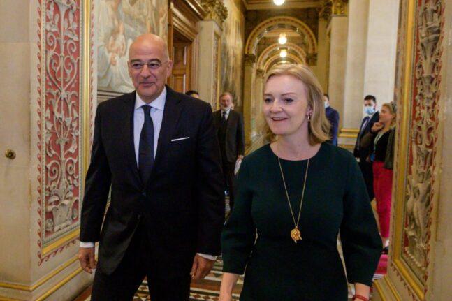 Δένδιας: «Ελλάδα και Ηνωμένο Βασίλειο ανοίγουν νέο κεφάλαιο στις σχέσεις τους μετά το Brexit»