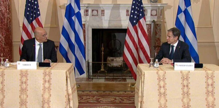 Αμυντική συμφωνία Ελλάδας – ΗΠΑ: Υπέγραψαν Δένδιας και Μπλίνκεν ΒΙΝΤΕΟ