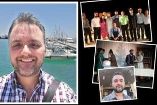 Δημήτρης Μόρφης: Ένας ψυχολόγος που αγαπά το θέατρο - Ξεκινώντας από την Πάτρα και φτάνοντας στην Κύπρο