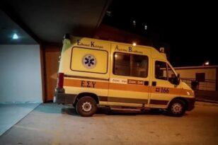 Τροχαίο με τραυματισμό 24χρονου στην Πρέβεζα