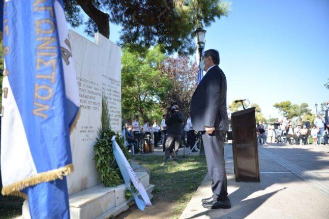 Η Πάτρα τίμησε τα 77 χρόνια απελευθέρωσής της - Κεντρικό σημείο η πλατεία Υψηλών Αλωνίων