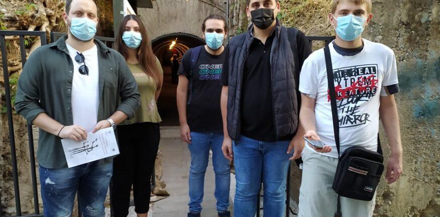 Στο καταφύγιο των Υψηλών Αλωνίων η νεολαία του ΣΥΡΙΖΑ