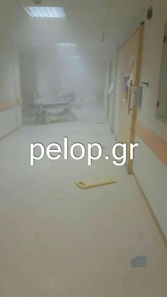 Μαινόμενος ασθενής τα έσπασε στο Νοσοκομείο «Άγιος Ανδρέας» - Γιατροί κλειδώθηκαν για να σωθούν - ΦΩΤΟ