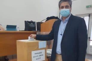 Ηλεία - Εκλογές Ν.Δ: Ανανέωση θητείας για τον Χρήστο Γαβρά