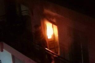 Πάτρα: Φωτιά τη νύχτα σε διαμέρισμα - Στο νοσοκομείο μητέρα και κόρη