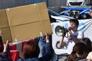 Ιταλία- Διαδηλώσεις στη Ρώμη κατά του φασισμού