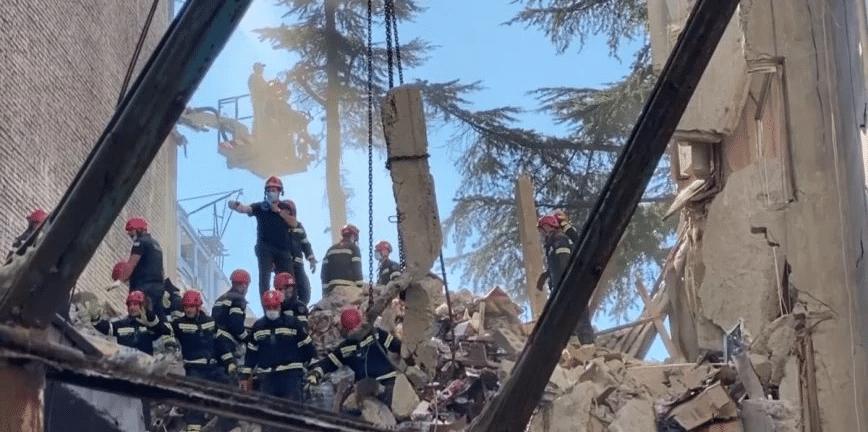 Γεωργία: Πέντε νεκροί από τη μερική κατάρρευση κτιρίου στο Μπατούμι