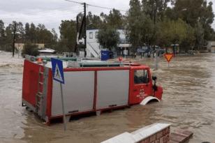 Κακοκαιρία «Μπάλλος» - Κέρκυρα: Σε κατάσταση έκτακτης ανάγκης το νησί ΒΙΝΤΕΟ