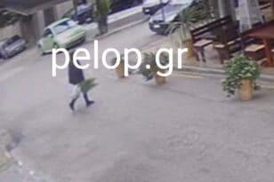 Την «έπιασαν» να κλέβει φυτά από μαγαζί της Τριών Ναυάρχων - ΦΩΤΟ