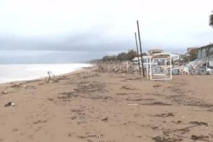 Σε Αμαλιάδα και Αιτωλικό έβρεξε περισσότερο τις τελευταίες ώρες