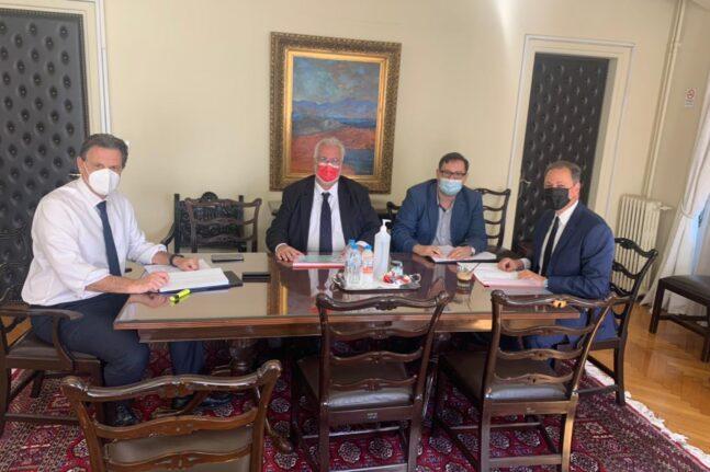 Συνάντηση Εργασίας Λιβανού - Σκυλακάκη για τα ΣΔΙΤ του πρωτογενούς τομέα