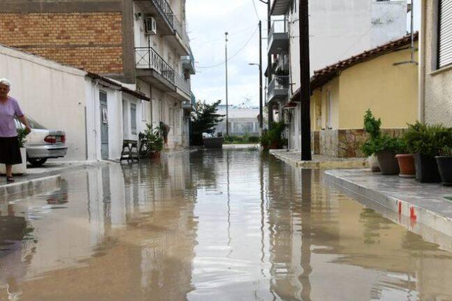 Μεσολόγγι - πλημμύρες: Κάλεσα Δήμου για καταγραφή των ζημιών