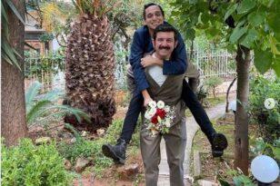 Ο ηθοποιός Μιχάλης Οικονόμου παντρεύτηκε τον σύντροφό του
