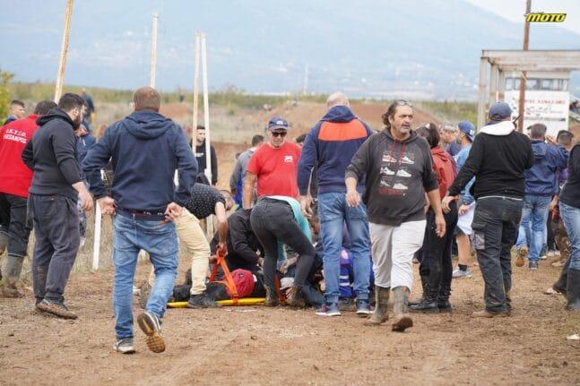 ΒΙΝΤΕΟ ντοκουμέντο από το σοβαρό ατύχημα στην πίστα Motocross στα Γιαννιτσά - Δυο συλλήψεις - Κρίσιμες ώρες για τους τραυματίες