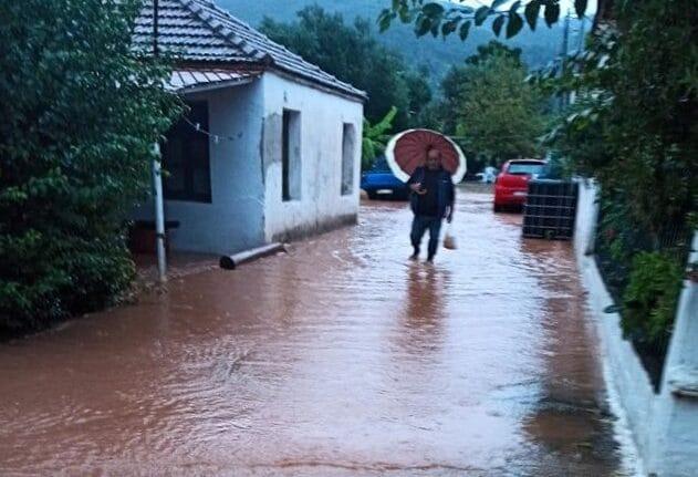 Φεύγει ο «Μπάλλος» αφήνοντας καταστροφές - Ανυπολόγιστες ζημιές στην Αιτωλοακαρνανία ΒΙΝΤΕΟ