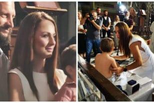 Γιώργος Λαμπρόπουλος – Χριστίνα Αθανασοπούλου: Βάπτισαν το αγγελούδι τους οι γνωστοί και αγαπημένοι αθλητές