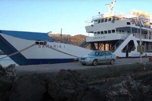 Χανιά: Πλοίο έπεσε σε ύφαλο λόγω ανέμων