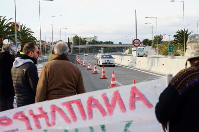«Ολύμπια» υπομονή σήμερα για τους οδηγούς στην Πατρών - Κορίνθου - Συλλαλητήριο και αποκλεισμός στο Αίγιο