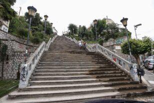 Πάτρα: Εργασίες στις 4 εμβληματικές σκάλες - Ανοίγουν οι προσφορές