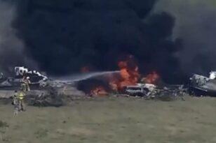 Τέξας: Συνετρίβη αεροσκάφος με 21 επιβαίνοντες - Σώοι όλοι οι επιβαίνοντες ΒΙΝΤΕΟ