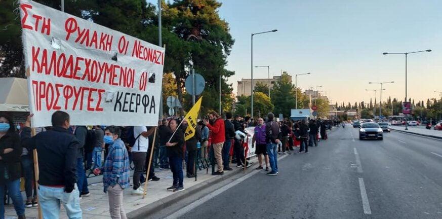 Θεσσαλονίκη: Επεισόδια και χημικά στην αντιφασιστική πορεία - ΒΙΝΤΕΟ