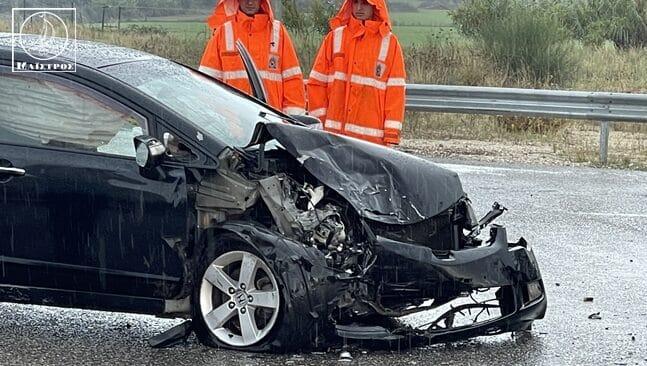 Αμφιλοχία: Σοβαρό τροχαίο με πέντε τραυματίες στην Ιόνια Οδό - ΦΩΤΟ - ΒΙΝΤΕΟ