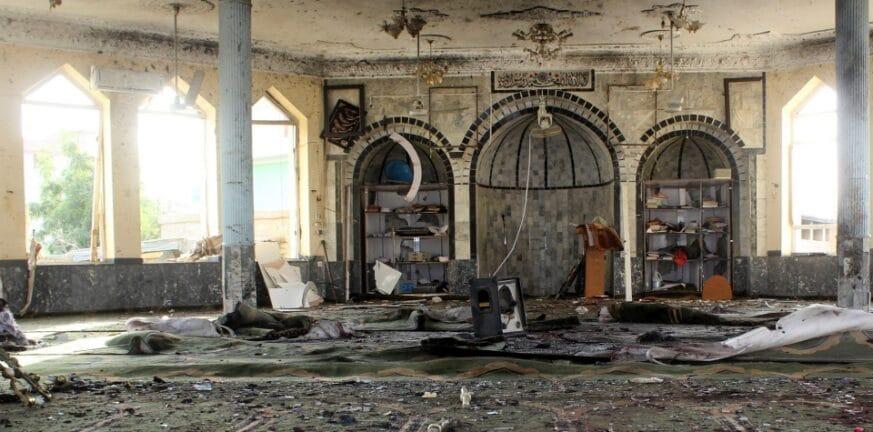 Αφγανιστάν: Το ISIS ανέλαβε την ευθύνη για την πολύνεκρη επίθεση στο τέμενος