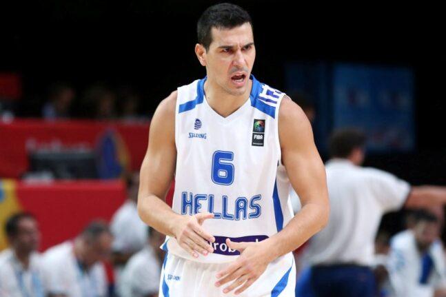 Ο Νίκος Ζήσης μάνατζερ στην Εθνική ομάδα μπάσκετ